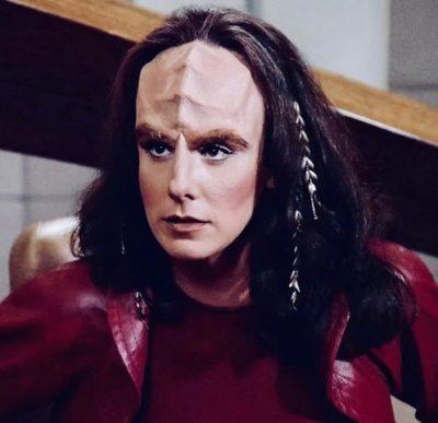"""K'Ehleyr in """"Star Trek: The Next Generation"""""""