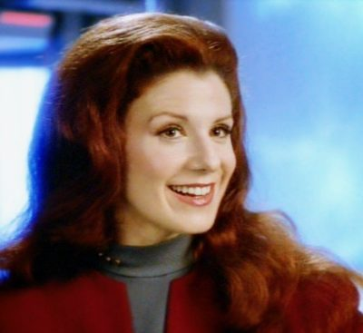 "The Lady Q in ""Star Trek: Voyager"""
